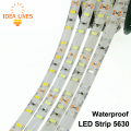 LED Strip 5630 Waterproof DC12V Flexible LED Light 60 LED/m IP65 Waterproof 5630 LED Strip.
