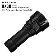Wholesale prices 2017 NEW FREE SHIPPING IMALENT DX80 XHP70 LED Most Powerful Flood LED Seach Flashlight N1