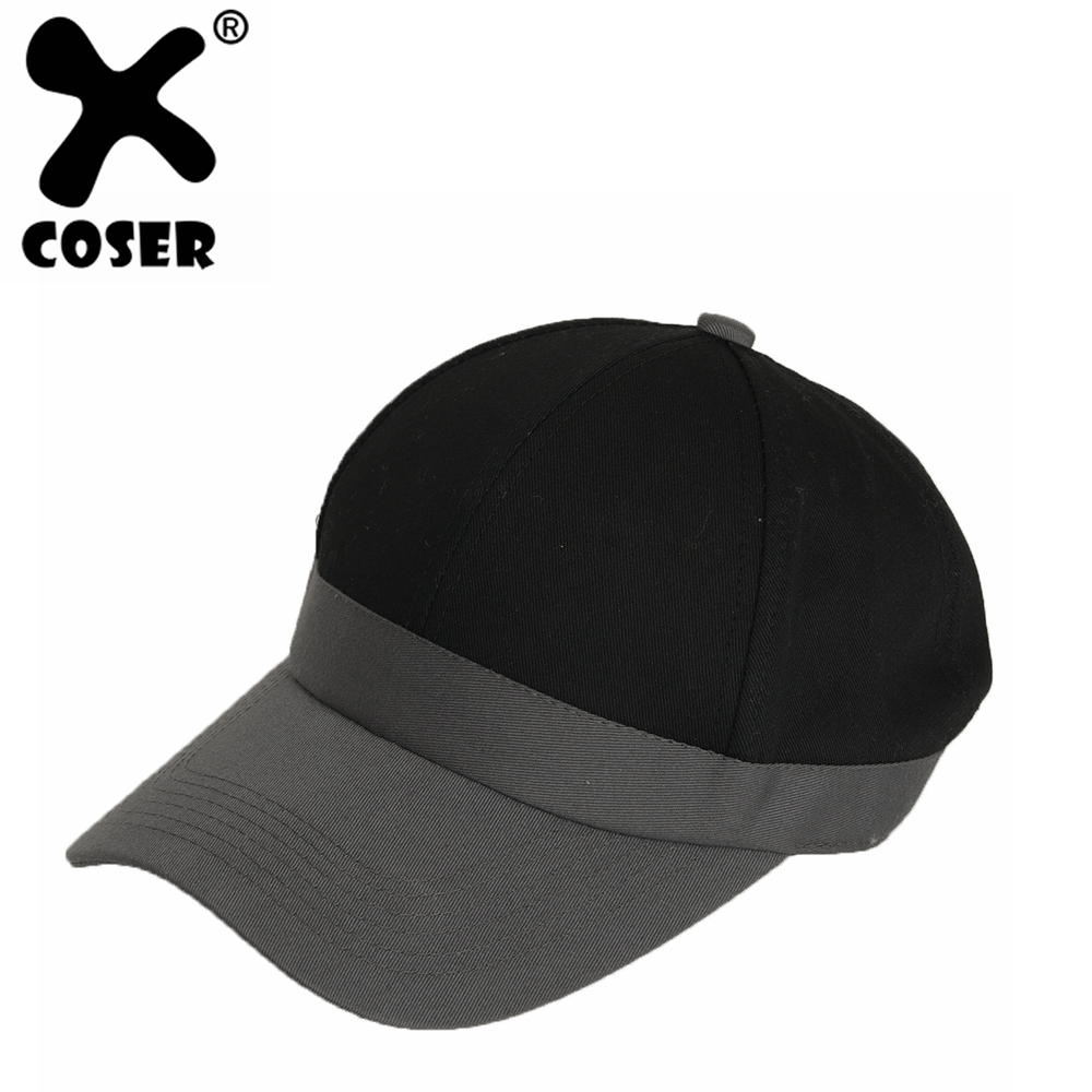 XCOSER Danganronpa V3 Saihara Shuichi Hat Women Men Cosplay Costume Accessories 2019 New Cool Fashion Casual Hats Baseball Cap