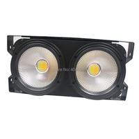 NEW 2eyes 2x100w LED Warm White 200W Led Audience Blinder DMX LED COB LED PAR