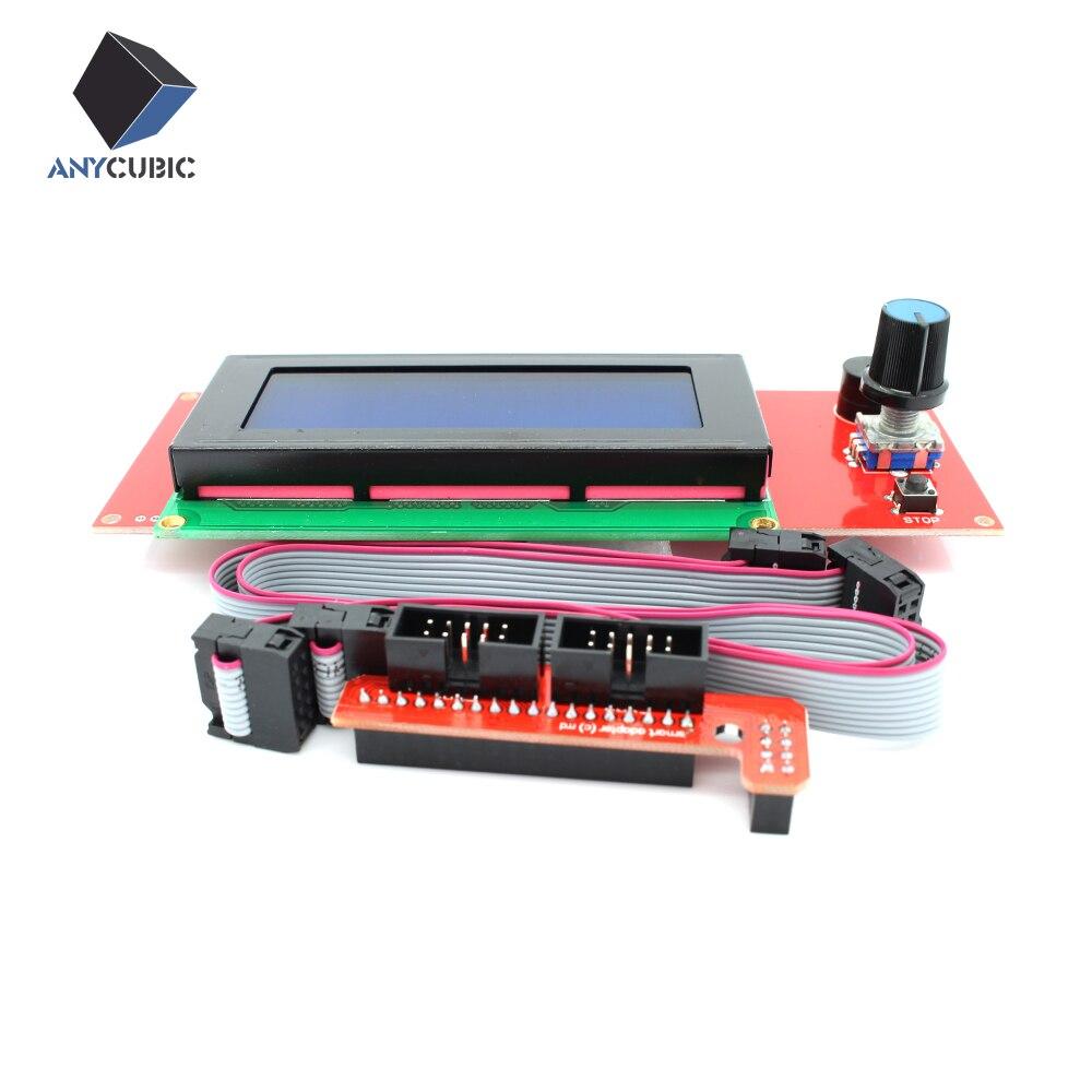 Impresora 3D 2004 Controlador LCD con ranura para tarjeta SD para Rampas 1.4 Rep