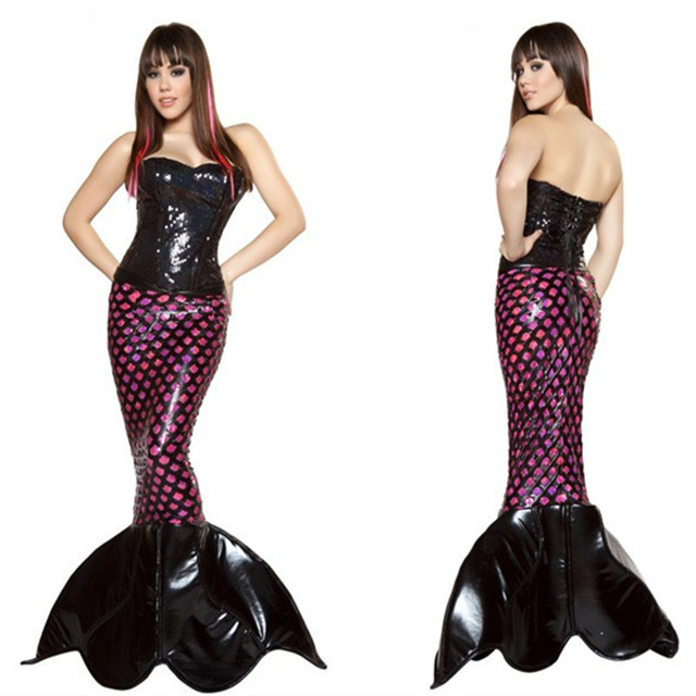 new listing adult halloween cosplay clothes bar party mermaid cosplay clothing beach cosplay mermaid princess cosplay