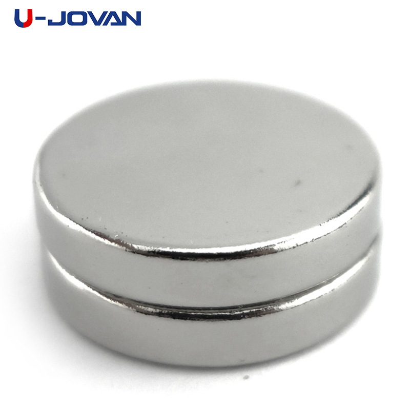 U-JOVAN 5pcs 20 * 5 20mm X 5mm N35 Super Strong Craft Magnet Rare Earth Disc Permanet Neodymium Magnets 20x5