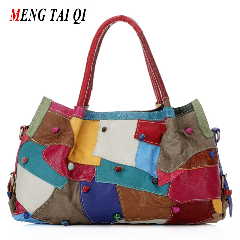 ФОТО Bags handbags famous brands genuine leather bags European and American style women messenger bag luxury shoulder bags 2016  4