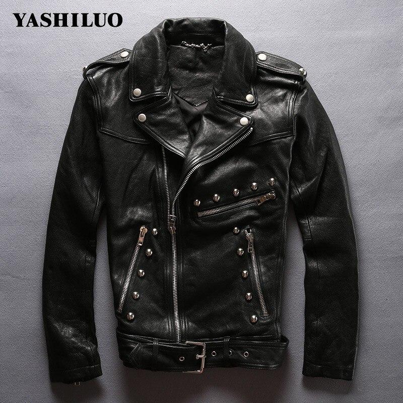 Nightclubs Leather Vegetable Jacket