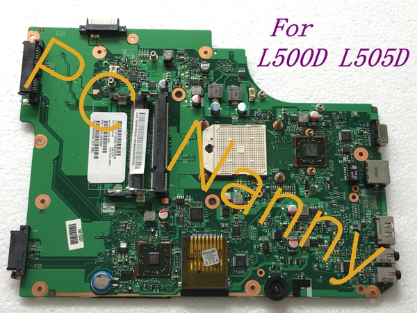 ФОТО For Toshiba Satellite L505D L500d Laptop Motherboard Amd Integrated V000185580 6050A2250801