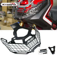 Motorcycle Front Headlight Head Lamp Light Grille Guard Cover Mesh Guard Protector For Honda X ADV XADV 750 XADV750