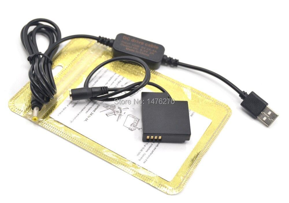 Adaptador de Alimentación de ACK-DC80 DR-80 NB-10L maniquí de la batería para Canon G16 G3X SX50 SX60