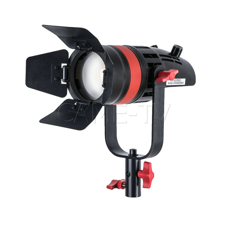 Image 2 - 1 Pc CAME TV Q 55S Boltzen 55w High Output Fresnel Focusable LED Bi Color With Bag-in Photo Studio Accessories from Consumer Electronics