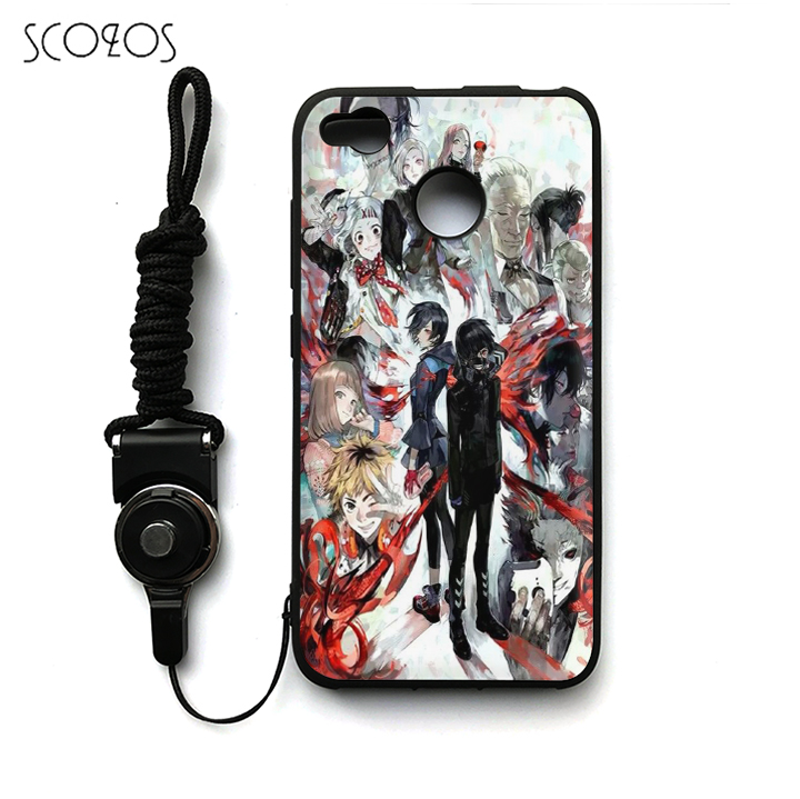 SCOZOS Anime Tokyo Ghoul 8 Silicone TPU Phone  Case Soft Cover For Xiaomi Mi 5 6 A1 5X Redmi 4X 4A Note 4 Note 4X &pp01