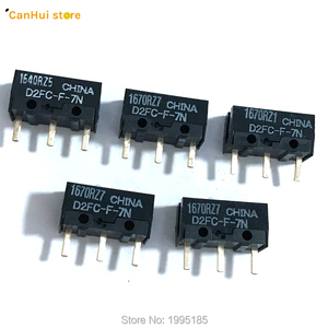 5PCS/LOT New Authentic OMRON Mouse Micro Switch D2FC-F-7N Mouse Button Fretting D2FC-E-7N D2FC(China)