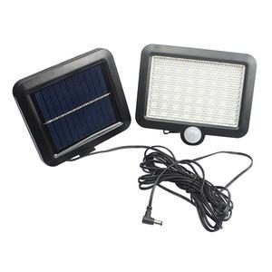 Image 2 - 56 Led Outdoor Solar Wandlamp Pir Motion Sensor Solar Lamp Waterdichte Infrarood Sensor Tuin Licht Voor Parken/Beveiliging straat