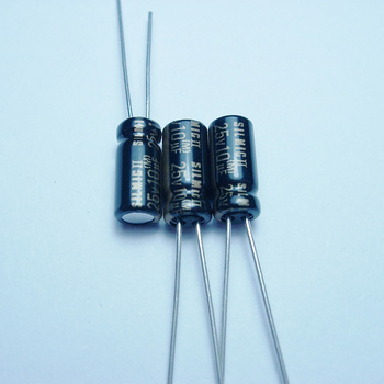 20pcs/50PCS ELNA SILMCII 25v10uf 5*11 copper for capacitance foot audio super capacitor electrolytic capacitors free shipping 20pcs 50pcs cd15fd181j03 5