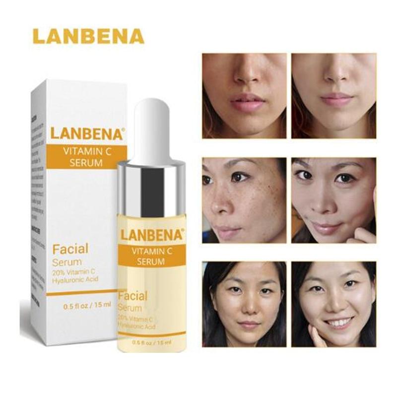LANBENA Vitamina C ser de albire Acid hialuronic Cremă de față - Ingrijirea pielii