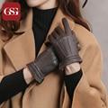 High Quality TouchScreen Gloves for Women Fashion Brand Women's Lambskin Gloves Winter Warm Short Gloves Adult Ladies Mitten