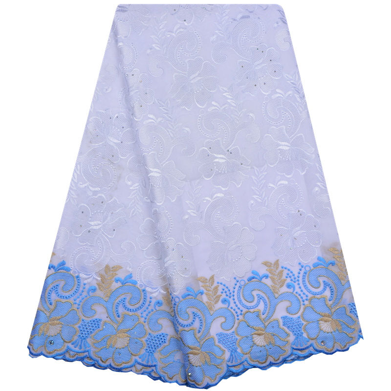 New Design Africa Cotton Swiss Voile Lace 2018 High Quality Swiss Voile Lace In Switzerland African