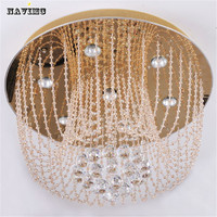 New Item Promotion Sales High Quality Dia450mm Living Room Ceiling Lamp Crystal Modern Ceiling Lights