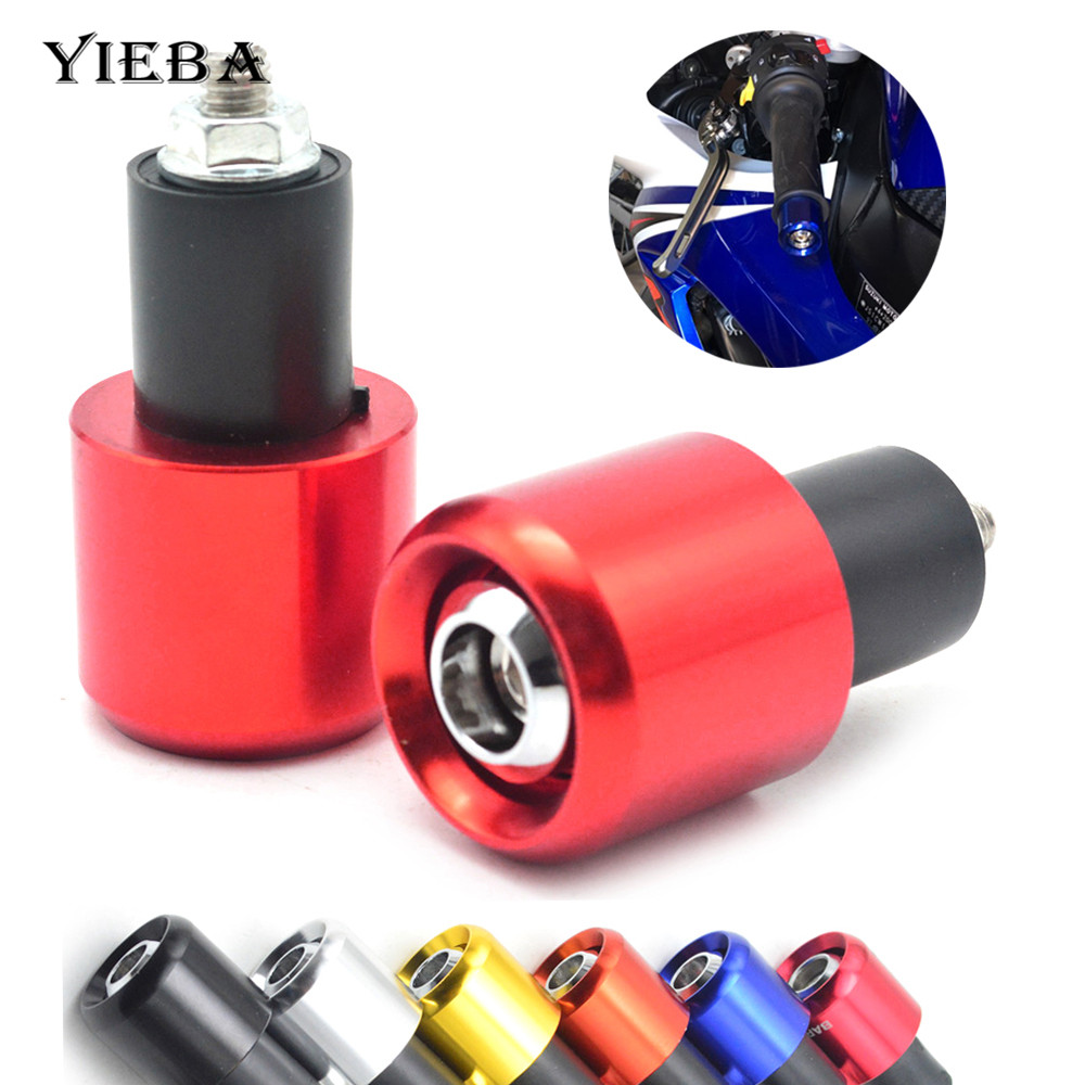 Motorcycle Handlebar End Handlebar Grips Cap Ends Anti Vibration Silder Plug For DUCATI MULTISTRADA 1200/S S4RS STREETFIGHTER /S