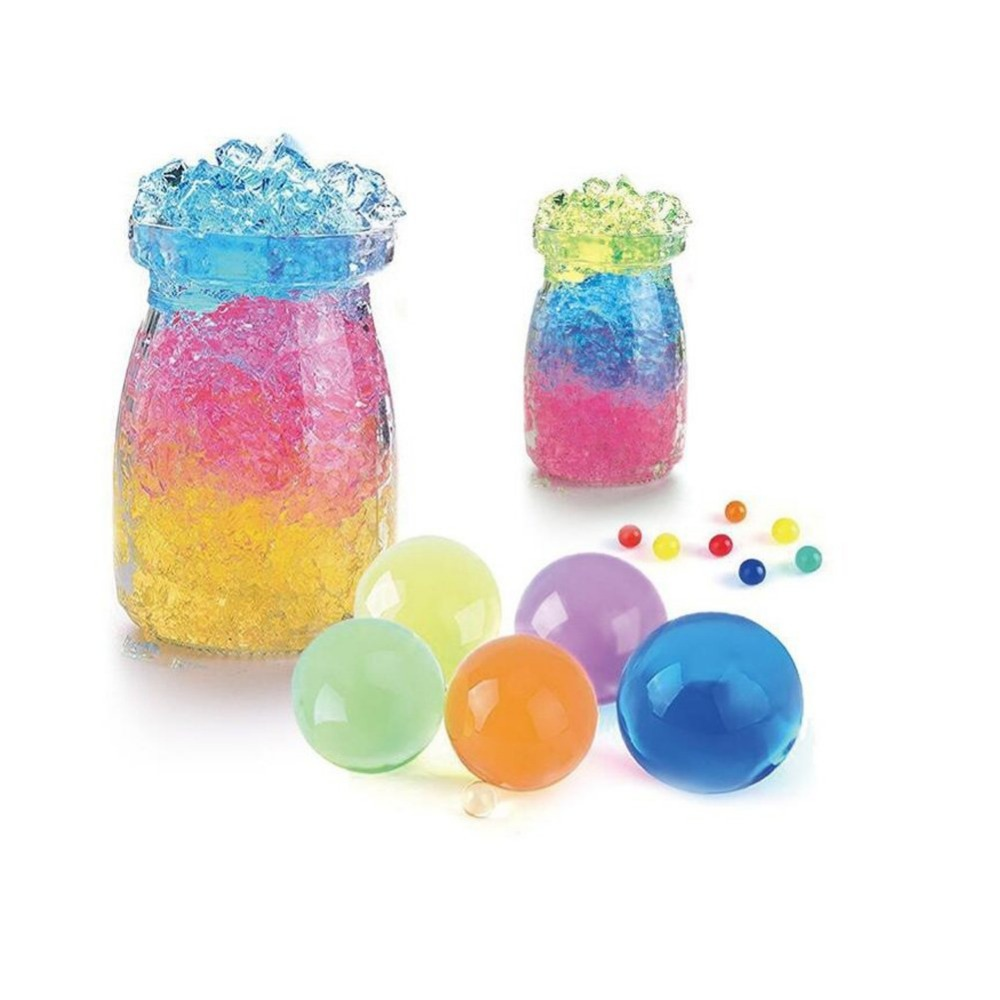 Large Water Gel Beads 3 Oz Pack Growing Water Balls Jelly Crystal For Kids Tactile Toy and Vase Filler Outdoor Pool Bath Toys