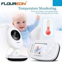 Night Vision Infant Wireless Monitor Baby Digital Video Monitor Camera Audio Music LCD Temperature Display Radio