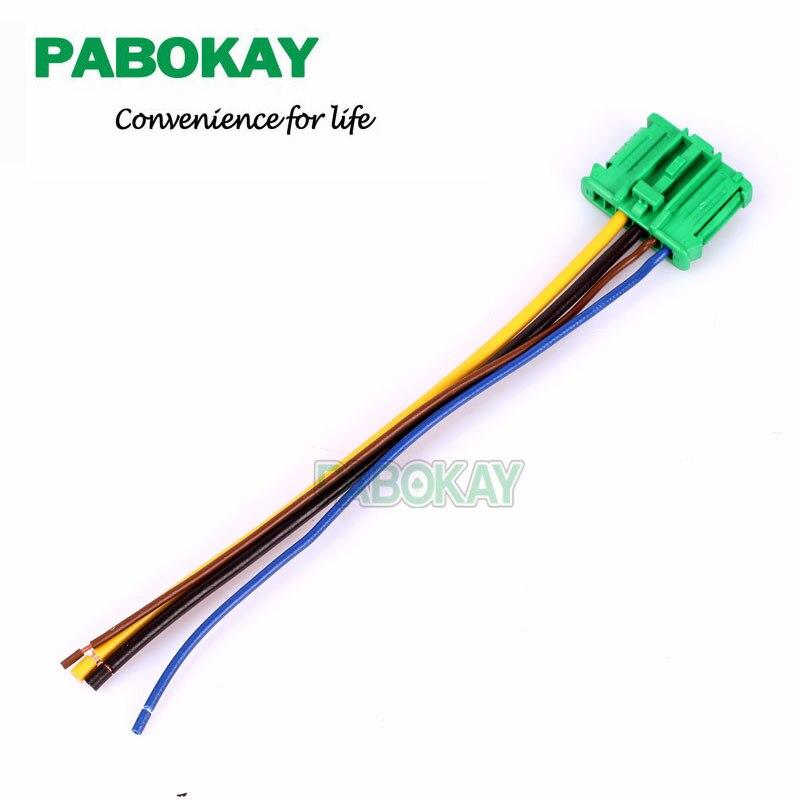 Blower Motor Heater Fan Resistor /& Connector//Wire For Nissan Tiida Livina