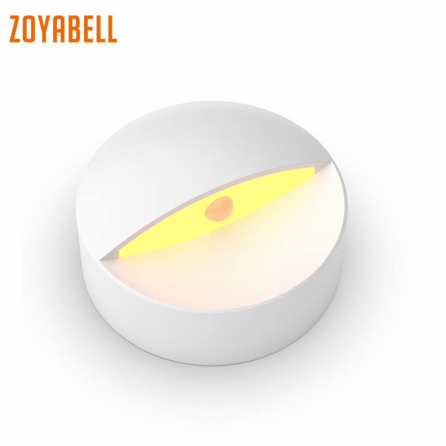 zoyabell Smart Led Auto Motion Sensor Night Light WC Toilet Wall Bathroom Light Home Bedroom Bathroom Kitchen Lights