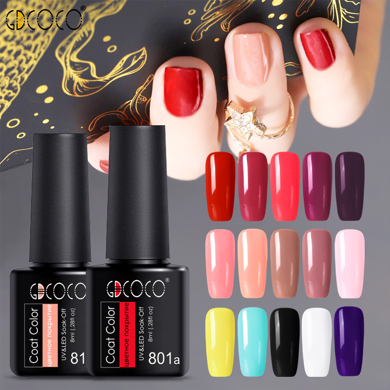 HTB1xUhBXliE3KVjSZFMq6zQhVXan - 2019 New Arrival Primer Gel Varnish Soak Off UV LED Gel Nail Polish