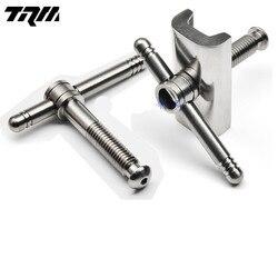 1 Xe Đạp Gấp Bản Lề Kẹp Titanium C Khóa Cho Brompton Xe Đạp Bản Lề Kẹp Titanium Cờ Lê Siêu Nhẹ