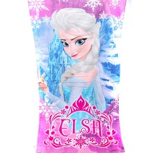 HOT SALE Bath Towel Elsa and Anna Cotton Children Beach Towel Drap De Plage