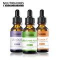 Neutriherbs Beauty Retinol Vitamin C Hyaluronic Acid Serum Kit Anti Aging Scar Acne Lifting Whitening Collagen Serum Herbal