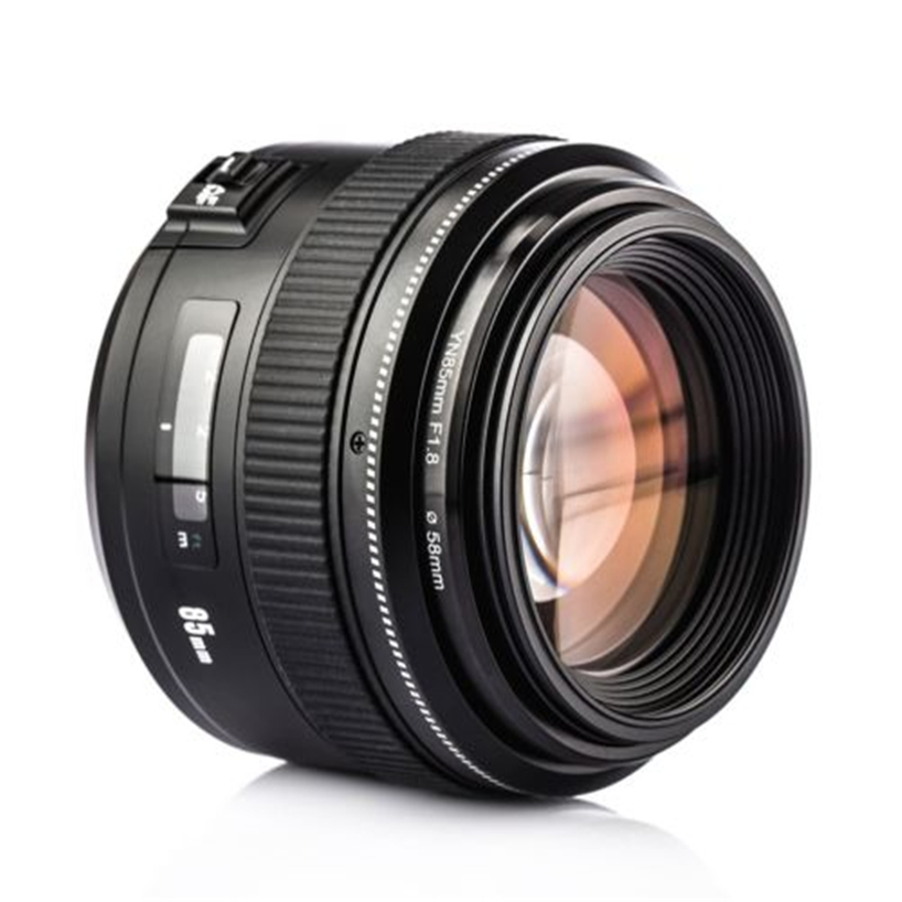 YONGNUO Lentille YN85mm f1.8 AF/MF Standard Moyen Téléobjectif Premier Objectif Fixe Focale D'objectif de Caméra pour Canon EF Mont EOS