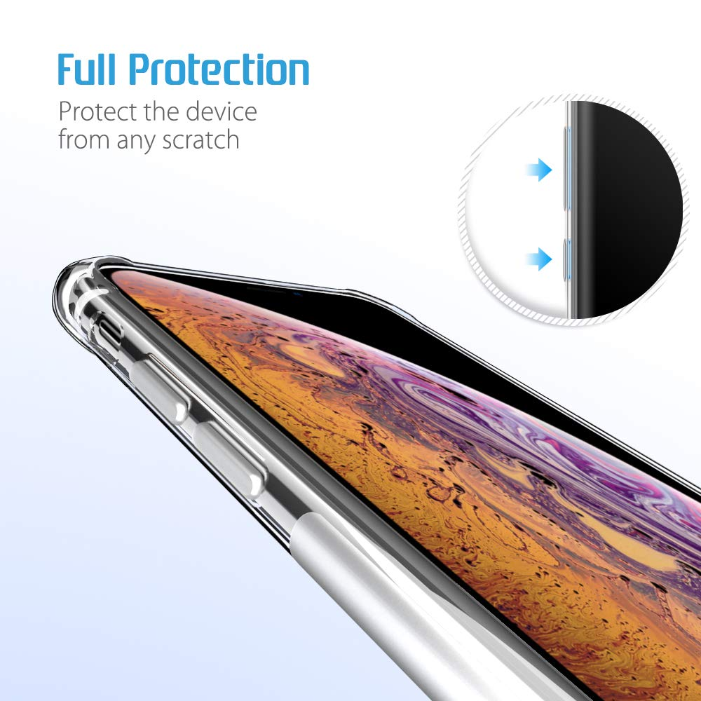 Ultra thin Clear Transparent TPU Silicone Case For iPhone X XS MAX XR 6 7 6S Plus Protect Rubber Phone Case sFor iPhone 8 7 Plus (5)