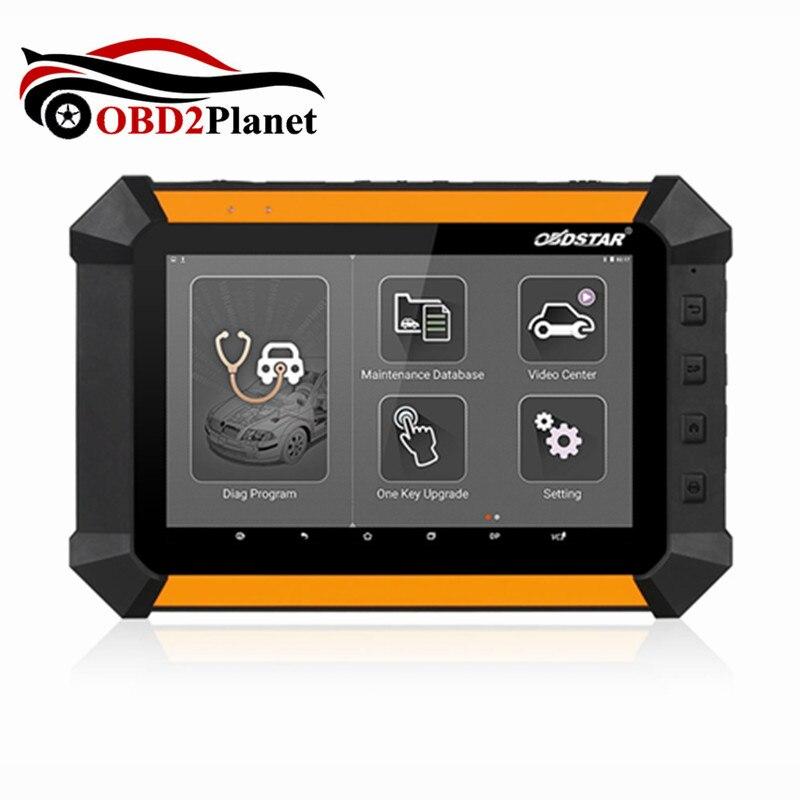 100% OBDSTAR X-300 DP X300 PAD Chave Auto Programador Quilometragem Correção EEPROM Adaptador EPB ABS SRS Ferramenta De Diagnóstico