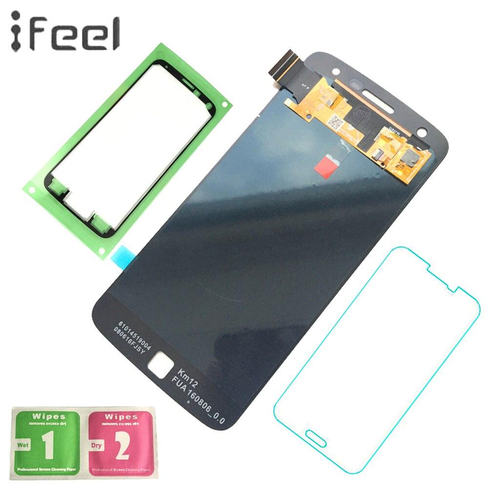 IFEEL 5.5 pouces Nouveau LCD D'affichage Pour Motorola Moto Z Jouer Droid XT1635-01 XT1635-02 LCD Affichage à L'écran Tactile Digitizer Assemblée
