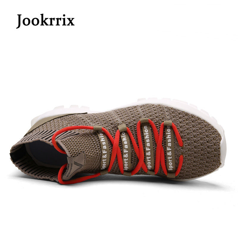 Jookrrix 2018 Spring Fashion Brand Leisure Shoes Men Sneaker Black Shoe Breathable Cross-tied Youth Male All-match Casual Shoe