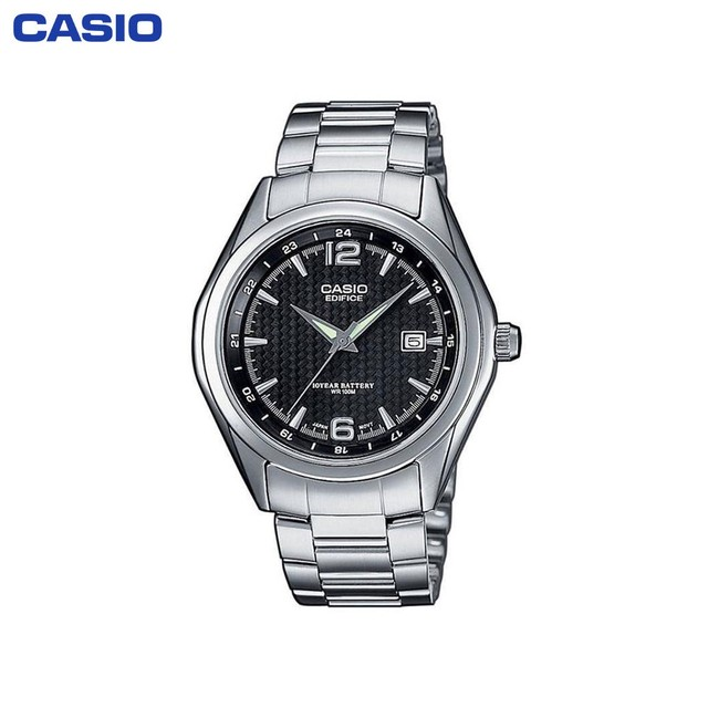 Наручные часы Casio EF-121D-1A мужские кварцевые на браслете