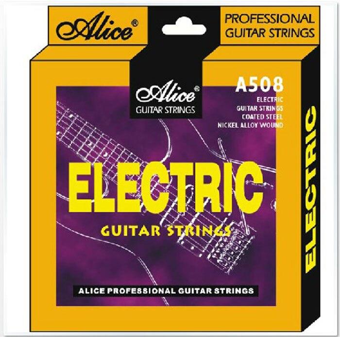 Alice a508sl electric guitar strings set steel core 009 strings