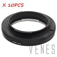10 шт. Venes PK MA, макро для Pentax PK Объектив костюм Minolta MA камера адаптер без оптического стекло