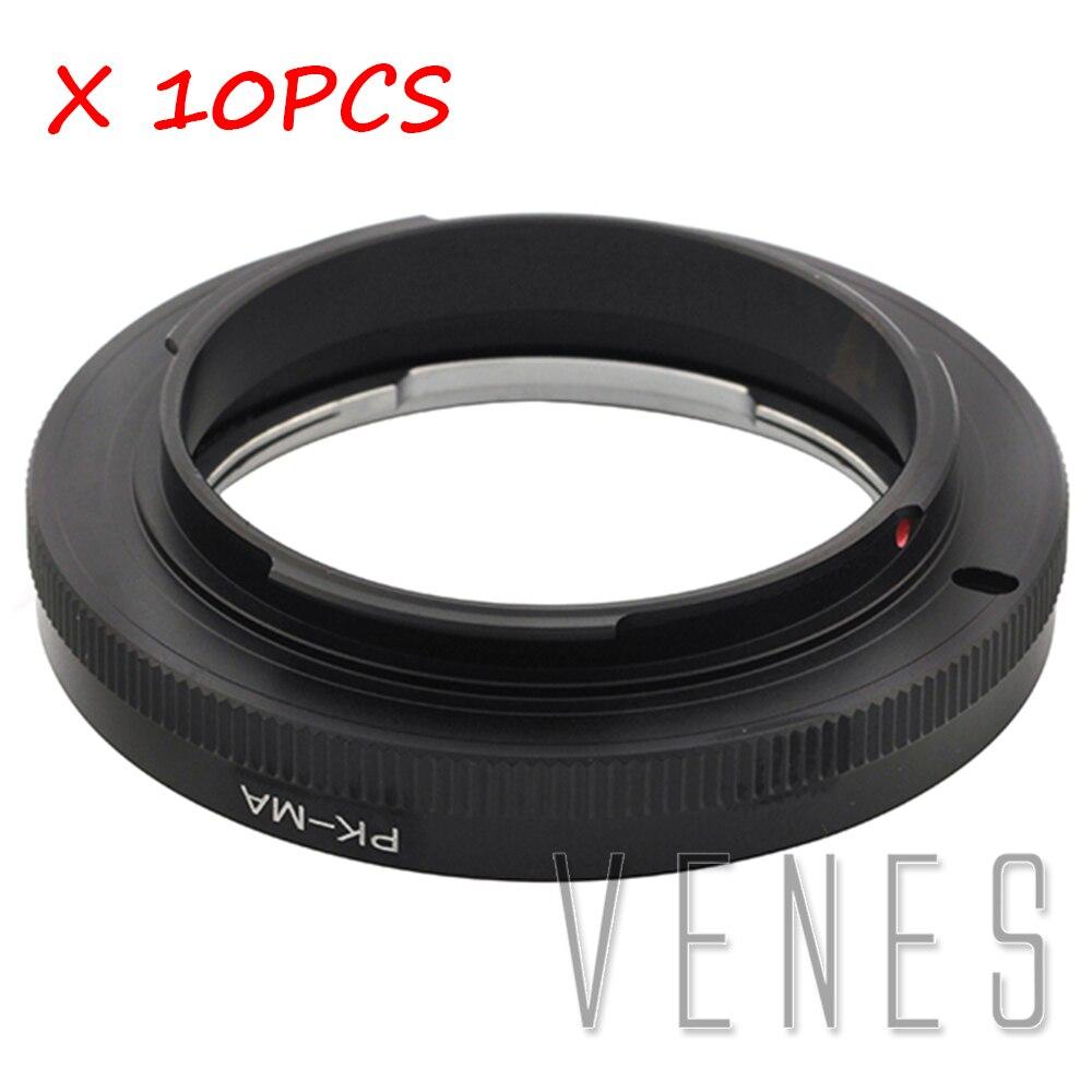10 pièces de Venes PK-MA, Macro Pour Pentax PK lens pour convient à Minolta MA Caméra adaptateur de montage non optique en verre