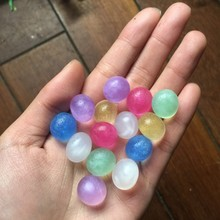 30g/lot New Recommended 3-3.5mm Pearly-lustre Crystal Soil Water Beads Mud Grow Beautiful Ice Balls Wedding Home Decor FGZ02