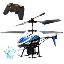 3.5CH IR Fountain Spray Remote Control rc helicopter Drone Shoot Water Shooting Jet Mini Hydraulic RC helicopter Children's toys