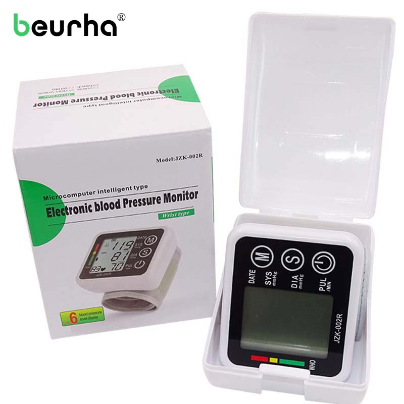 Health Care Automatic Wrist Blood Pressure Monitor Digital Tonometer Meter Household Blood Pressure Measuring Monitor Wholesale 2015 sex products real tablet goji berry xinjiang apocynum tea health wholesale gift box 120g have high blood pressure and fat