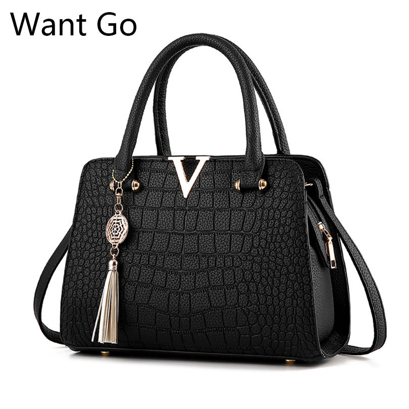 Want Go Women Business Handbag Fashion Lady Solid Color Shoulder Bag High Quality Pu Leather Female Tote Bag Girls Messenger Bag все цены