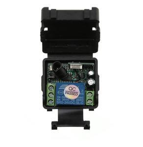 Image 2 - Mini mando inalámbrico de radiofrecuencia Universal 24 v DC 1CH radio transmisor interruptor receptor 433MHZ
