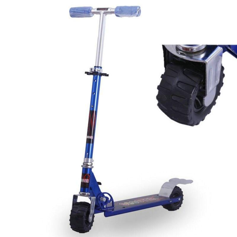 XLL Fold Adulto Scooter, gomma Ruote scooter calcio con regolare l'altezza, leggero 3.5 KG Teens Motorino di 100*699mm grande ruota