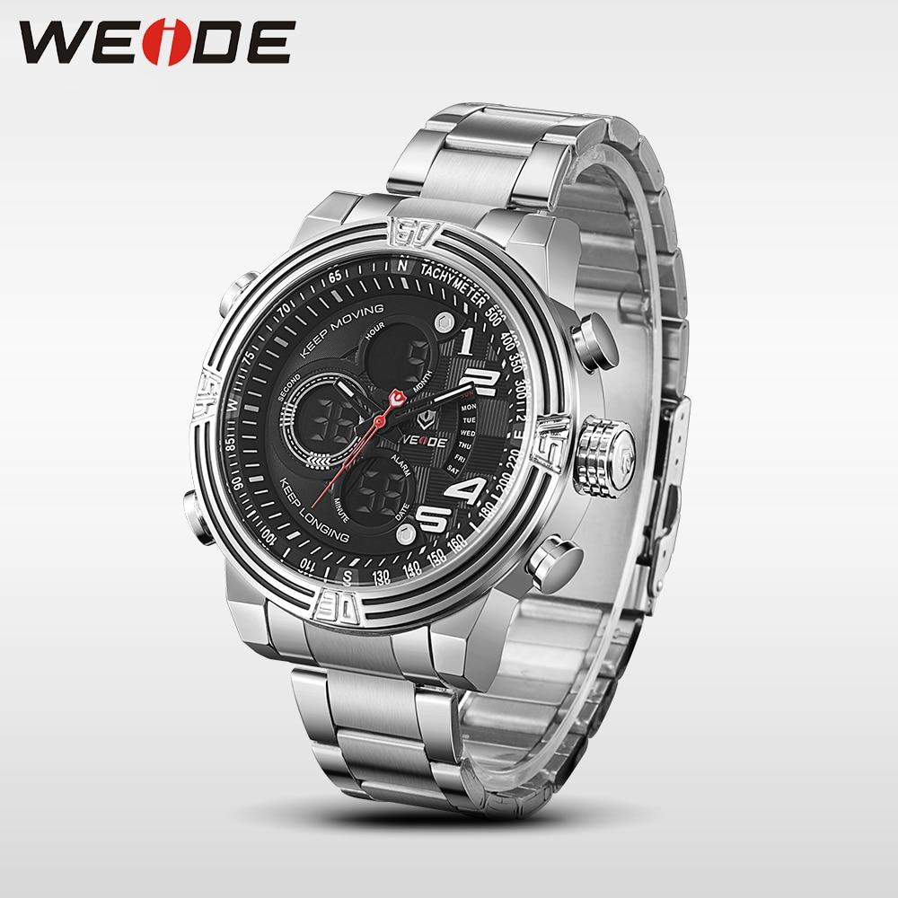 Weide reloj de pulsera deportivo de cuarzo de lujo, moda y casual, - Relojes para hombres - foto 5