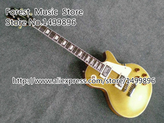 Cheap The Best Choice of Collectors 1957 R7 Matte Goldtop LP Standard Electric Guitars China Lefty Available