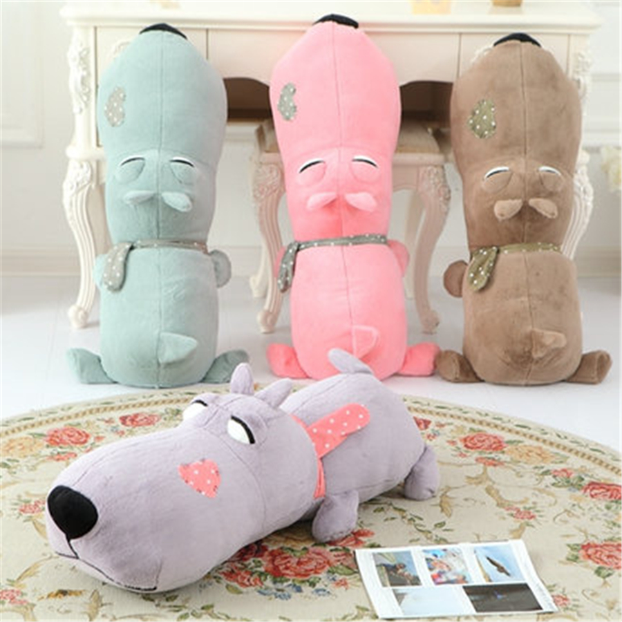 Cute Dog Stuffed Animals Dog Soft Toys For Girls Gifts Birthday Toy Kawaii Stuffed Animal Dolls Kids Plush Pillow 70C0569 5pcs lot pikachu plush toys 14cm pokemon go pikachu plush toy doll soft stuffed animals toys brinquedos gifts for kids children