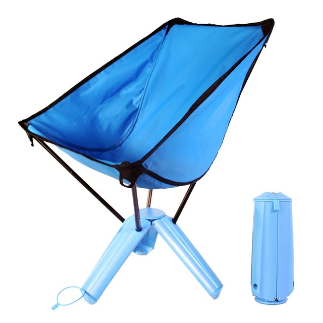 Colorful Outdoor Chair Ultralight Portable Folding Camping Backpacking  Stool Chairs Seat For Fishing Festival Picnic BBQ