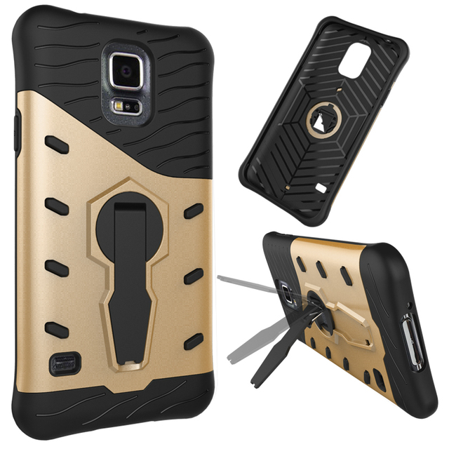 For Coque Samsung S5 Neo Heavy Armor Rugged Phone Cover Case For Samsung Galaxy S5 i9600 G900 SM-G900F S 5 Neo G903F Back Cover<